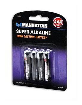 Bateria Súper Alcalina