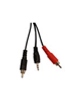 CABLE AUDIO - 2 RCA M/1 Plug M 1.80m (Manhattan)