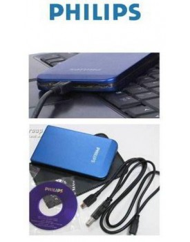 DISCO DURO EXTERNO HDD PHILIPS 250GB 2.5""