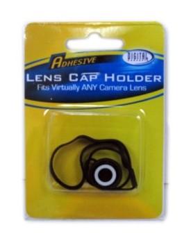 Boton adhesivo para sujetar la la tapa del lente