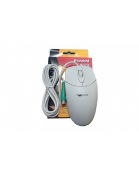 MOUSE SCROLL Xtreme PS2 COLOR BLANCO