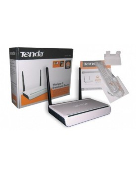 ROUTER WIRELESS N TENDA 300/150Mbps (Doble Antena)