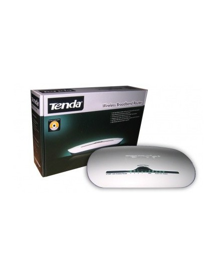 ROUTER WIRELESS N TENDA 300Mbps (Doble Antena Interna)
