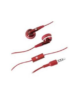 AURICULAR MOTOROLA Stereo EH25 Rojo