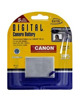 BATERIA DE LITIO - Canon Compatible (850mAh) (DIGITAL CONCEPTS)