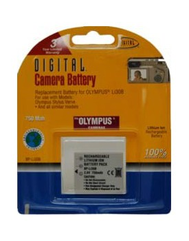BATERIA DE LITIO - Olympus Compatible (750mAh) (DIGITAL CONCEPTS)