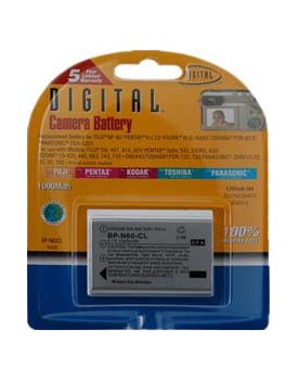 BATERIA DE LITIO - Fuji Compatible (1000 mAh) (BPN60CLF) (DIGITAL CONCEPTS)