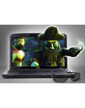 ACER 3D AS5738DG-6165 Blue 3D T6600 2.2GHz 4GB 320GB/DVD-RW