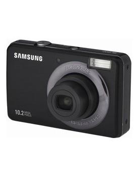 CAMARA DIGITAL - Samsung (10.2 MP) SL202 (Colores GRIS Oscuro y PLATEADO)
