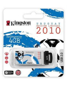 PENDRIVE 4 GIGAS KINGSTON EDICION URUGUAY