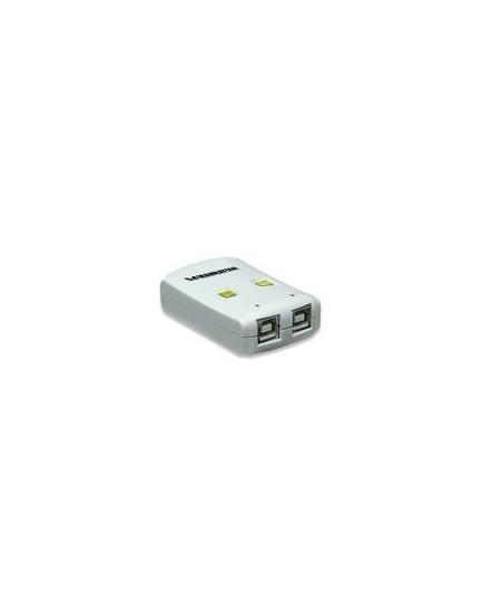 SWITCH AUTOMATICO - Comparte dispositivos USB de alta velocidad (Manhattan)