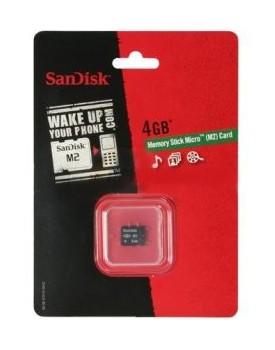 MEMORIA - Sandisk - MS, M2, 4GB
