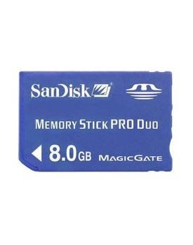 MEMORIA - Sandisk - Flash MS, PRO DUO, 8GB