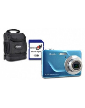 CAMARA DIGITAL - Kodak 10.2MP + ESTUCHE Kodak + MEMORIA SD 1GB