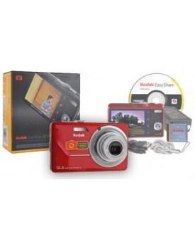 "CAMARA DIGITAL - Kodak 12.2MP, Pantalla de 12.7"" + Bateria de Litio Roja"