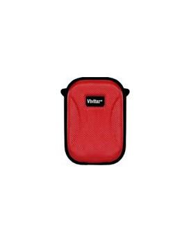 ESTUCHE PARA CAMARA DIGITAL - Vivitar (Hard Shell / Rojo)