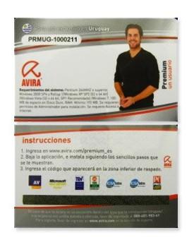 ANTIVIRUS - Avira (Premiun / 1 Año de Licencia) Seguridad para su PC!!