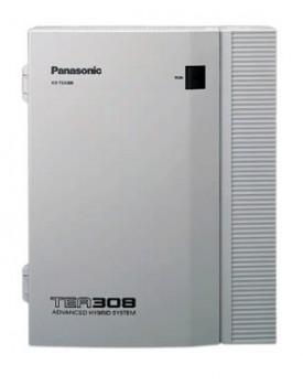 CENTRAL TELEFONICA - Panasonic (KXTE-A 308 DE / 3 lineas y 8 internos)