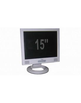 """MONITOR - 15"""" LCD (Rcertificado / Grado A+) Blanco"""