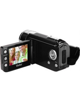 FILMADORA DIGITAL - Vivitar / 5.1 MP Alta Definicion - HD 720p (DVR 528) (Colores: Negro y Rojo)