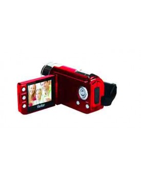 FILMADORA DIGITAL - Vivitar / 5.1 MP (Negro y rojo) Alta Definicion / HD 720p (DVR528)