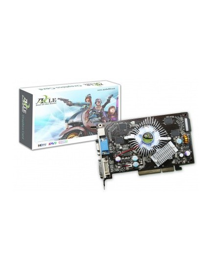 TARJETA DE VIDEO - GeForce 7600GT / 512MB / DDR2 / AGP (Axle3D)