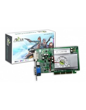 TARJETA DE VIDEO - GeForce / FX5200 / 256MB / DDR / PCI (AXLE3D)