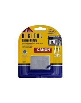 Bateria de Litio - COMPATIBLE CON CÁMARAS DIGITALES CANON Reemplaza baterias: NB-3L y similares.