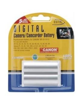 Bateria de Litio - COMPATIBLE CON CANON / EOS 20Da, G1, G3, G5, G6, PRO1, EOS50, EOS200 (....)