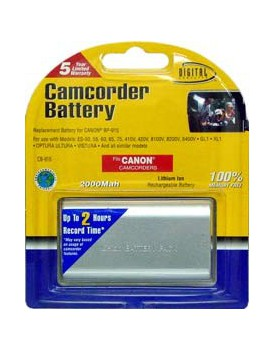 Bateria de Litio - para Filmadoras CANON ES-50, 55, 60, 65, 75, 410V, 420V (....)