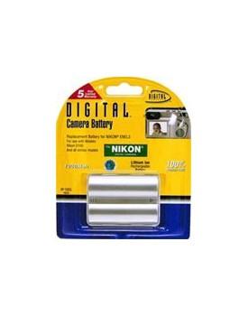 Bateria de Litio - COMPATIBLE CON CÁMARAS DIGITALES NIKON Reemplaza bateria: ENEL3/3A y similares