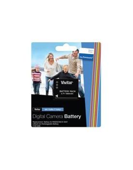 Bateria Recargable - COMPATIBLE CON CÁMARAS DIGITALES PANASONIC Reemplaza bateria: DMW-BCF10