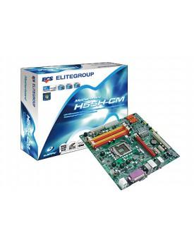 MOTHERBOARD - ECS H55H-CM (V1.0) (Socket 1156)