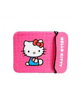 SOBRE DE NEOPRENO / 14'' P.Notebook (Hello Kitty)