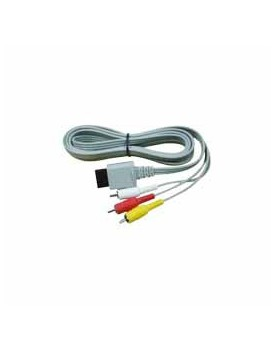Cable de Video AV P/Wii (Color Gris)