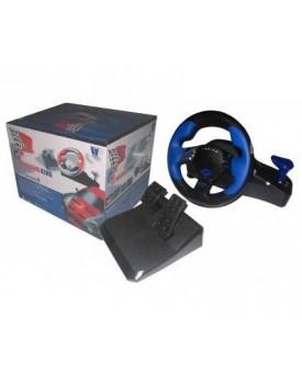 VOLANTE - Xtreme C/vibracion (USB P/PC o PlayStation) (TP-782III)