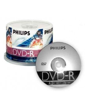 DVD-R 8X PHILIPS 120min BULK