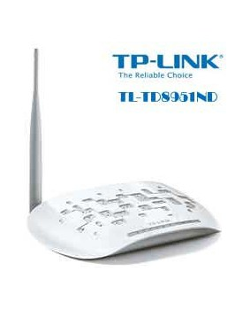 Modem Router Inalambrico N ADSL2+ de 150Mbps