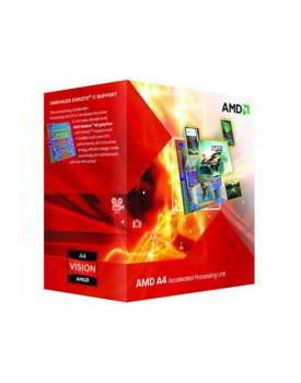 PROCESADOR AMD A4-3300M APU with Radeon™ HD 6480G