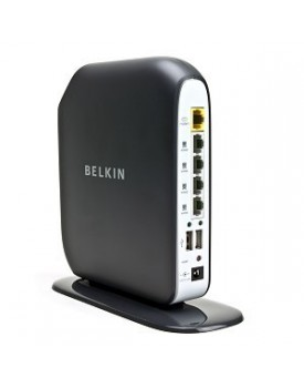 ROUTER - Wireless N 300Mbps / Gigabit / Dual USB (Belkin)