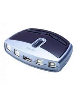 Conmutador de 4 puertos para perifericos USB 2.0 Aten - US421