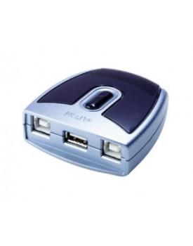 Conmutador de 2 puertos para perifericos USB 2.0 Aten - US221