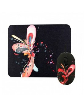 Mouse Inalambrico y Mouse Pad JETION JT-NMS028