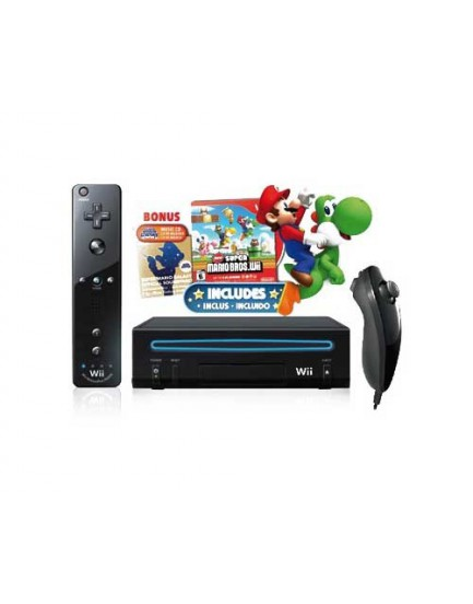 CONSOLA - WII Mario Bros / Incluye Controles y Juego (NINTENDO)