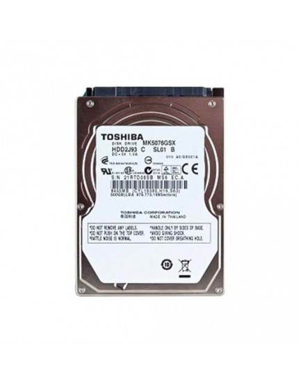 DISCO DURO - Notebook / 500GB / 2.5'' / Sata (TOSHIBA)