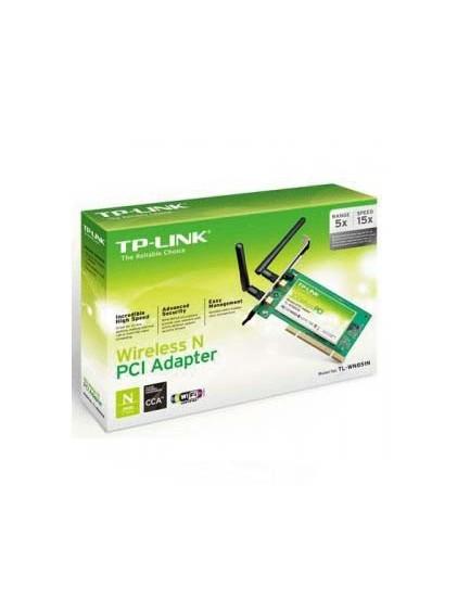 Tarjeta de Red PCI TP-LINK TL-WN851ND 300Mbps de antena removible