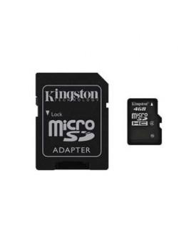 MEMORIA FLASH - 4GB / C.Adaptador (KINGSTON)