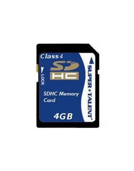 MEMORIA FLASH - 4GB / SDHC (SUPER TALENT)