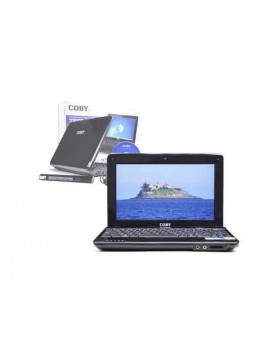 "NETBOOK - 10"" / Atom N455 1.66GHZ / 1G Ram / 320GB Hd / Win 7 Home (COBY)"